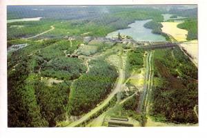 Aerial View Algom Nordic Mine Site, Uranium, Elliot Lake, Ontario