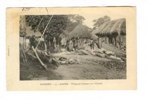 DAHOMEY , Afanir.-Village de Pecheurs sur l'Oueme, 1910s
