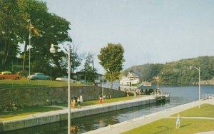 PORT CARLING , Muskoka , Ontario , Canada , 1950-60s ; The Locks