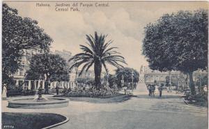 HAVANA, Cuba , 1900-10s; Jardines del Parque Central
