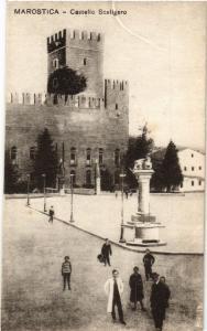 CPA VERONA Castello Scaligero . ITALY (448451)