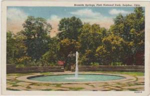 Bromide Springs, Platt National Park, Sulphur Oklahoma 1930-40s