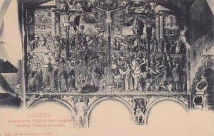 LUGANO, Interieur de l'Eglise degil Angilio, Tableau: Passion de Luini, Ticin...