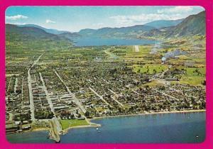 Canada Penticton Aerial View