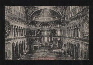 059590 CONSTANTINOPLE Interieur Mosquee St.Sophie