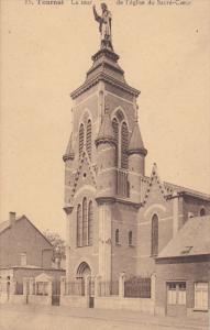 TOURNAI , Belgium , 00-10s : La tour de l'eglise du Sacre-Coeur