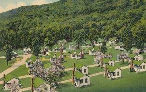 FRANCONIA NOTCH , New Hampshire, 1930-1940s; English Village