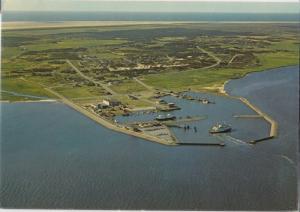 Aerial view of Havneby, Romo, Denmark, Danmark, used Postcard