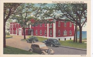 Michigan Owosso Ludington Paulina Stearns Hospital Curteich