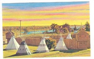 Historic Fort Macleod,  Alberta,  Canada, 40-60s