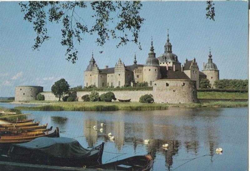 Sweden, Kalmar Slott, Kalmar Castle, unused Postcard