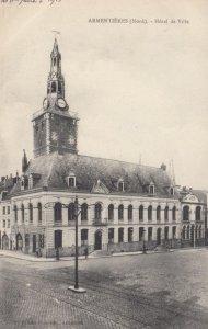 ARMENTIERES, France, 1910-1920s, Hotel de Ville