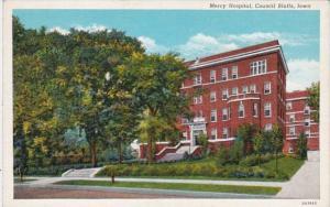 Iowa Council Bluffs Mercy Hospital Curteich