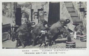 Circus Postcard Post Card Franco - British Exposition  Franco - British Expos...