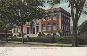 Carnegie Public Library , FREEPORT , Illinois , PU-1907