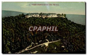 Old Postcard Mont Sainte Odile