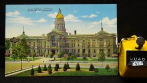STD Vintage State Capitol Cheyenne Wyoming Unposted