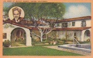 ENCINO , California , 1930-40s ; Mickey Rooney Home