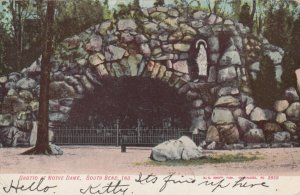 SOUTH BEND , Indiana , 1900-10s ; Grotto Notre-Dame