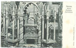 Italy, Verona, Arche Scaligere Particolare, early 1900s unused Postcard