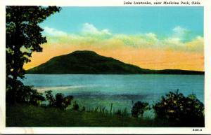 Oklahoma Medicine Park Lake Lawtonka Curteich