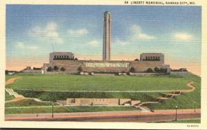 Liberty Memorial at Kansas City MO, Missouri - Linen