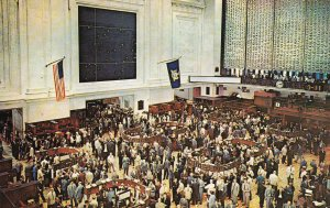 NEW YORK CITY, New York, 1950-1960; New York Stock Exchange, Trading Floor