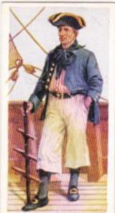 Carreras Vintage Cigarette Card Naval Uniforms No 12 Master Mariner 1740