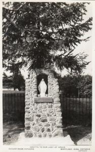 RP: KING, Ontario, Canada, 1920-30s; Grotto to our Lady of Grace, Marylake