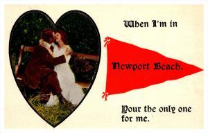 Rhode Island  Newport , Lovers at Newport Beach