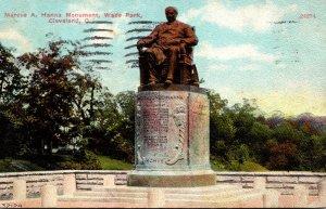 Ohio Cleveland Wade Park Marcus A Hanna Monument 1912