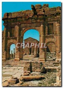 Postcard Modern Sbeitla Temple and Roman Forum