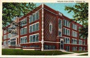 Pennsylvania Indiana High School Curteich