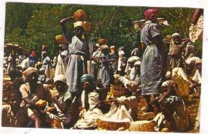 A Market Scene, Port-Au-Prince, Haiti, West Indies, 1940-1960s