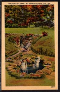 Miniature Hot Spring,Hot Springs National Park,AR