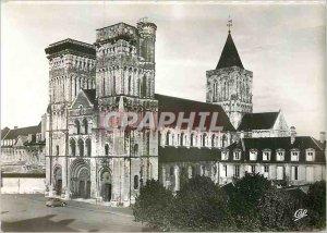 Postcard Moderne Caen (Calvados) Church of Charity Abbaye aux Dames