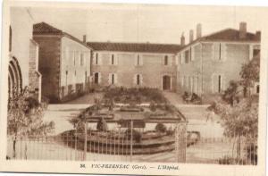 CPA Viz-Fezensac - L'Hopital (108133)