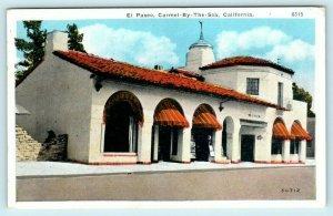 CARMEL by the SEA, California CA ~ EL PASEO BUILDING 1945   Postcard