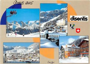 BG18205 gruss aus disentis cable train   switzerland