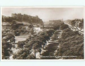 old rppc NICE VIEW Edinburgh Scotland UK i1893