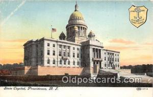 State Capitol Providence, RI, USA Postcard Post Card Providence, RI, USA Stat...