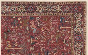 Animal Rug Indian about 1600 , 1910s