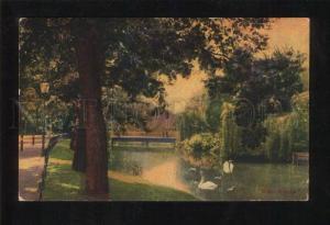 058953 GERMANY Cottbus Partie am Stadtpark Vintage