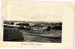 CPA TUNISIE St-Joseph de THIBAR-Vue générale (268678)