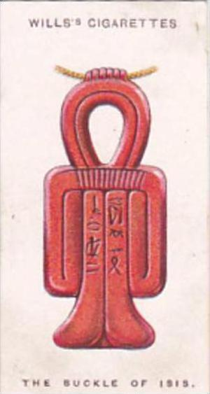Wills Cigarette Card Lucky Charms No 29 The Buckle Of Isis