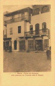 Italy Derna Piazza Koimacan colla palazzina del Comando della 9a Brigata 04.30