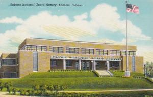 Indiana Kokomo National Guard Armory Curteich