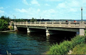 Minnesota Bemidji Mississippi River Bridge Highway #2