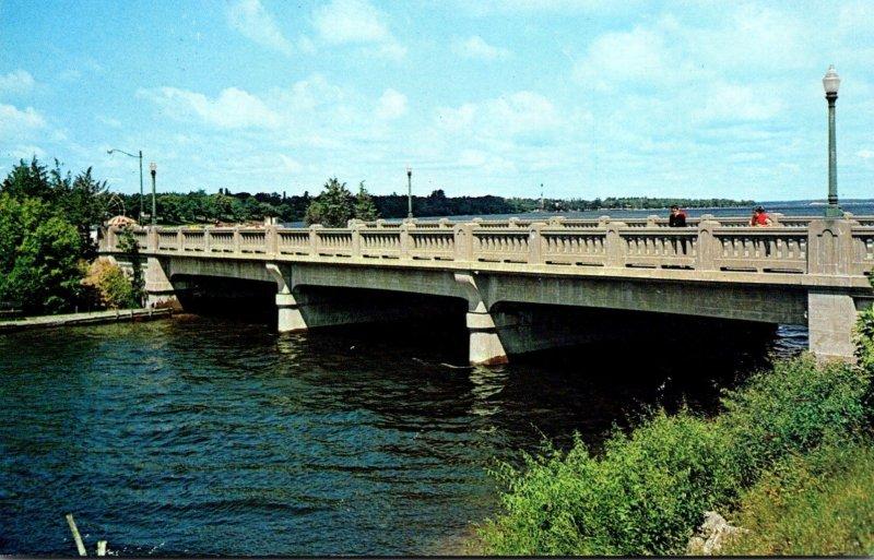 Minnesota Bemidji Mississippi River Bridge Highway #2