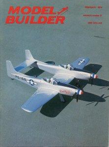 Vintage Model Builder Magazine February 1974